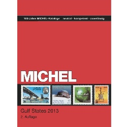 Katalóg MICHEL známky,Gulf States Catalogue,in English, 2013 (MICHEL84-13)